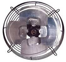 Extractor axial comercial de 20 cm de diámetro