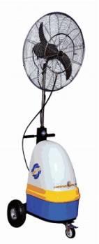 Ventilador portátil humidificador
