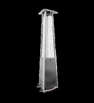 Calefactor exterior Piramide JK-1010-B de ACERO