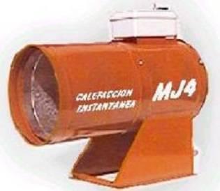 Calefactor directo a gas 100000 a 140000 Kcal/h mod CHD501214