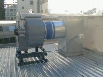instalaciones de ventiladores centrífugos