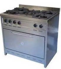 Cocina línea domestica 5 hornallas