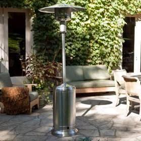 Calefactor para exteriores a gas envasado
